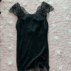 La PERLA black dress size 40